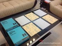 Giấy nhám tờ khô Nhật Bản. Hình ảnh thực tế giấy nhàm fujistar (sankyo) Nhật