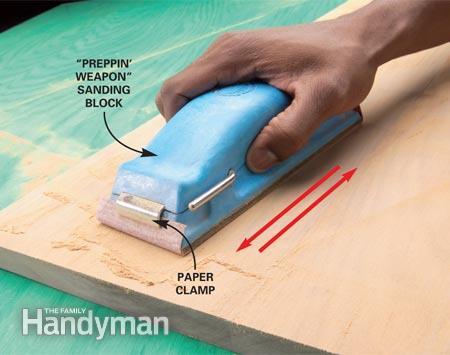 Nên chọn giấy nhám nào cho ngành gỗ và giấy nhám nào cho ngành kim loại?